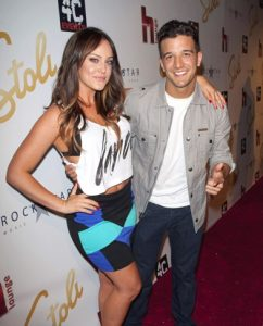 Lacey Schwimmer and Mark Ballas