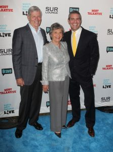 Andy Cohen, Evelyn Cohen