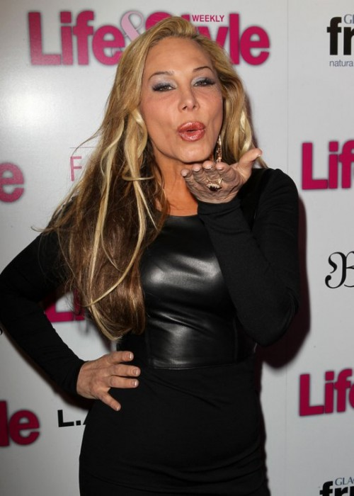 Adrienne Maloof Says That Theives Stole A Priceless Necklace From Her Home