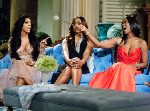 NeNe Leakes Calls Out Kenya Moore For Provoking Porsha Stewart, Andy Cohen Responds