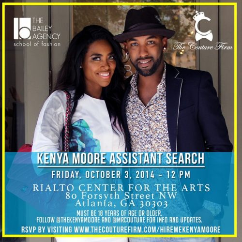 Kenya Moore Is Searching For An Assistant