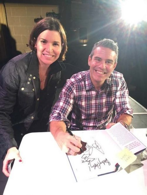 Our Writer Bonnie K. Meets Up With Andy Cohen At A Book Signing In Cali!