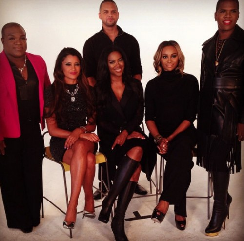 Photos: RHOA Stars Film AIDS/HIV Awareness PSA; Is Kenya Moore's Booty Workout Video Selling WorldWide?