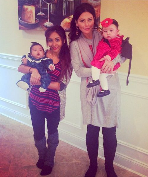Snooki & JWoww Share Their Cute Family Christmas Photos