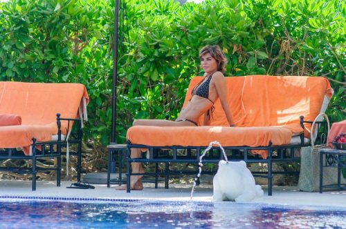 Photos: Lisa Rinna And Harry Hamlin Take Daughters Along For Anniversary Getaway To Mexico