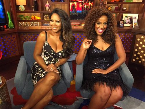 Kenya Moore Heard Porsha Cheated? Talks