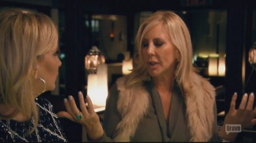 Vicki Gunvalson Thinks Meghan Edmonds is Trying to be 'Relevant'; Defends Shanno