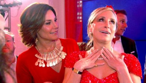 Sonja Morgan Loves Being The Life Of
