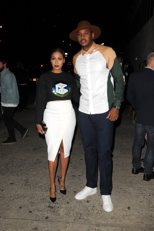 La La Anthony Denies Cheating On Carmelo With Rapper Maino!