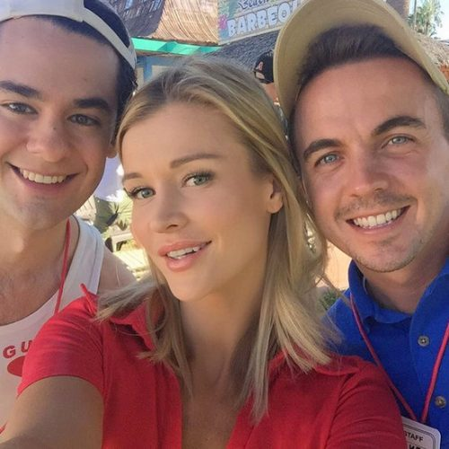 Joanna Krupa Lands 3rd Movie Role This Year – Photos On Set With Frankie Muniz And Brendan Robinson