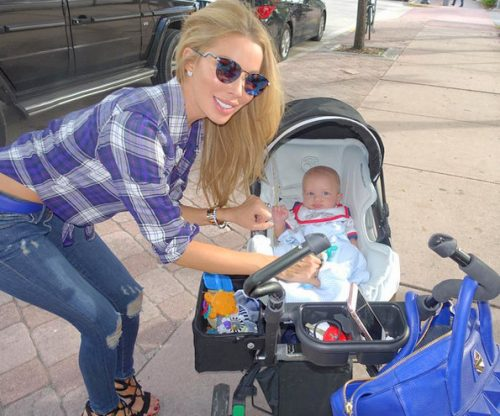 Lisa Hochstein And Baby Logan Out And About In Miami – Photos