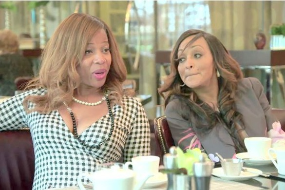 Real Housewives of Potomac stars Charrisse and Karen