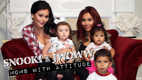 "Jersey Shore's Snooki and JWoww Dish On Their New Show: ""Moms With Attitude""!"