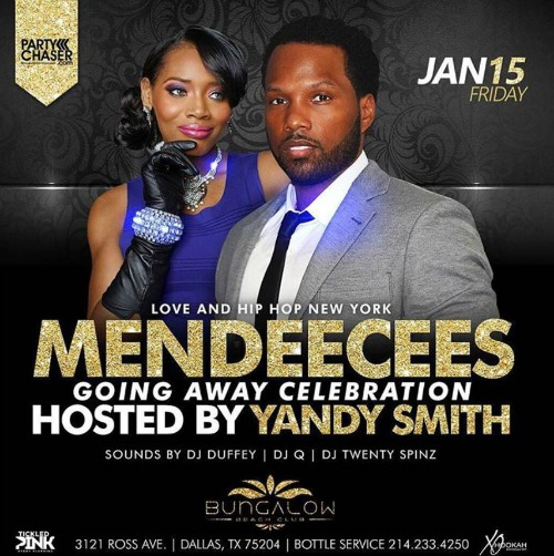 Love & Hip-Hop: New York's Yandy Smith Blasted for Throwing Husband Mendeecees Harris A 'Going-to-Prison' Party