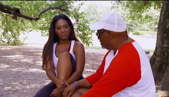 Kenya and her dad confront their painful past