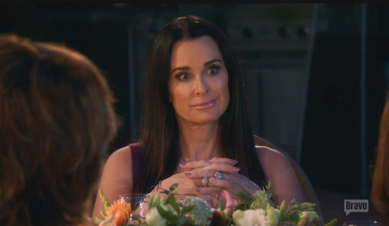 Kyle Richards does not appreciate