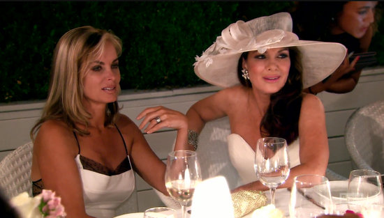 Lisa Vanderpump and Eileen on RHOBH