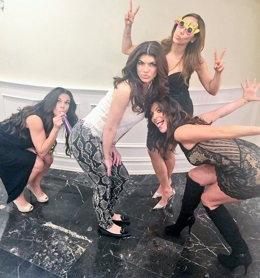 Teresa Giudice Celebrates New Year
