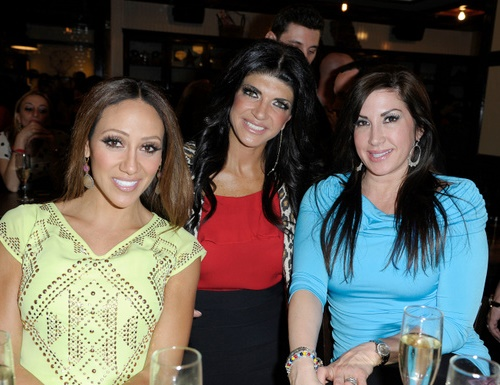 Real Housewives of New Jersey stars Melissa, Teresa, Jacqueline
