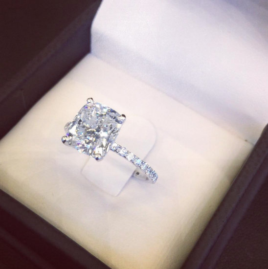 Ashlee Holmes Engagement Ring