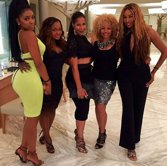 Sheree Whitfield And RHOA cast in Jamaica