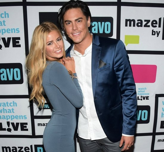 Tom Sandoval & Ariana Madix on WWHL