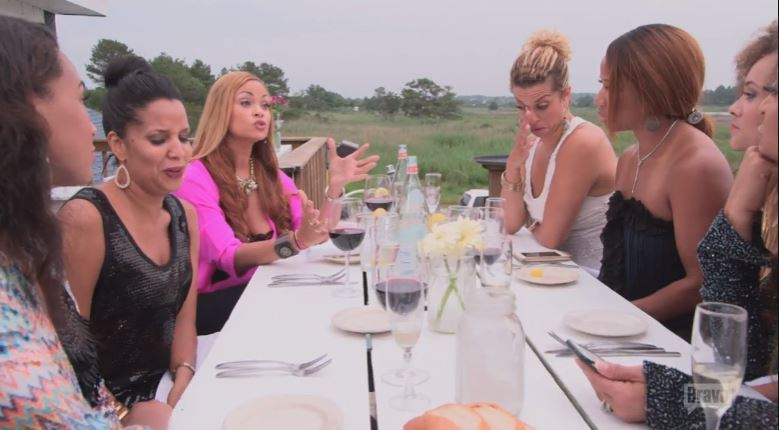 Cast-Beach-Dinner-Real-Housewives-of-Potomac