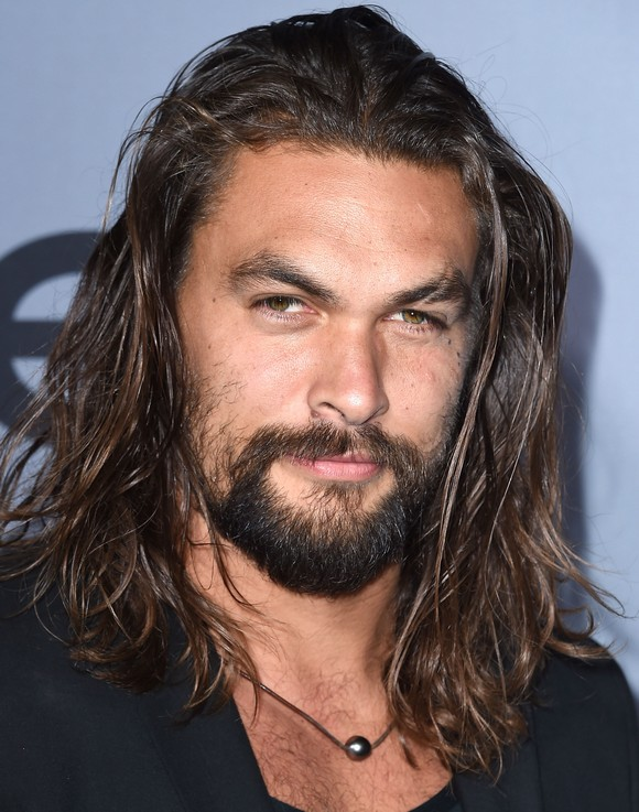 LOS ANGELES, CA - OCTOBER 26: Jason Momoa arrives at the InStyle Awards at Getty Center on October 26, 2015 in Los Angeles, California. (Photo by Steve Granitz/WireImage)