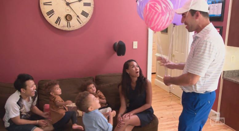 Katie-Rost-Andrew-Kids-Balloons-Real-Housewives-of-Potomac