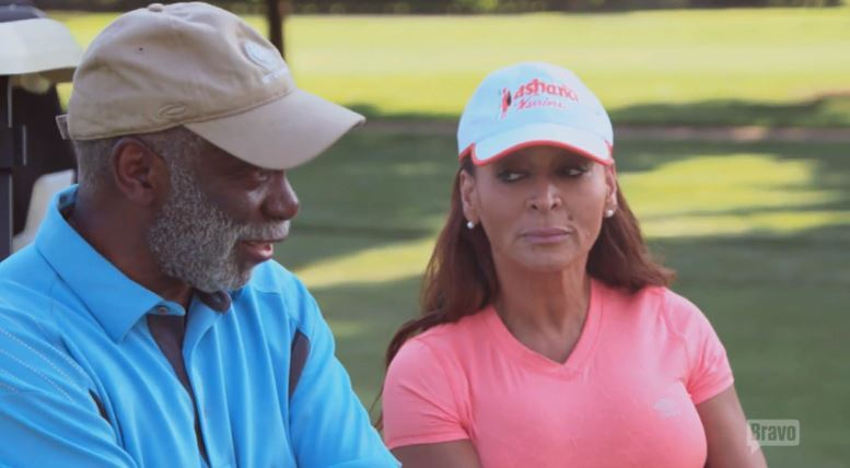 Raymond-Huger-Karen-Huger-Golf-Real-Housewives-of-Potomac