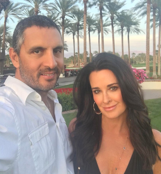 Reality TV Stars Kyle Richards