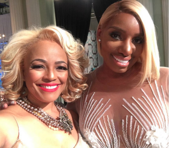 NeNe Leakes & Kim Fields - RHOA Reunion