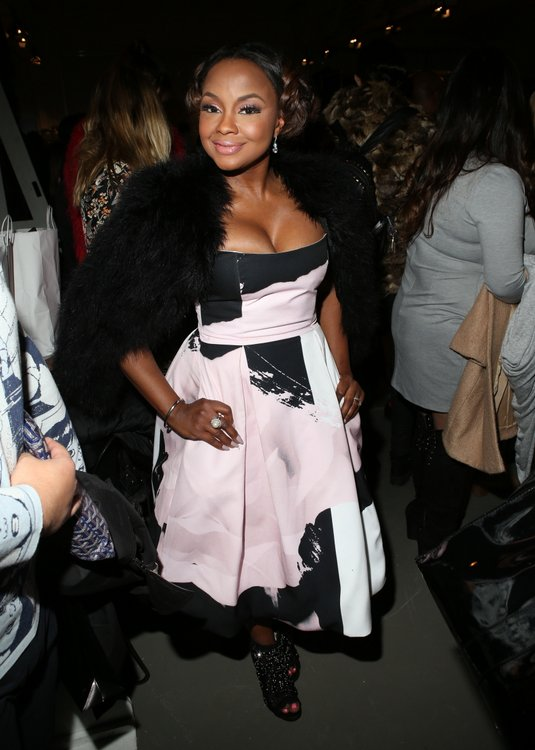 Phaedra Parks - NY Fashion Week