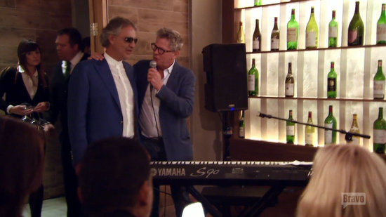 Andrea Bocelli on RHOBH