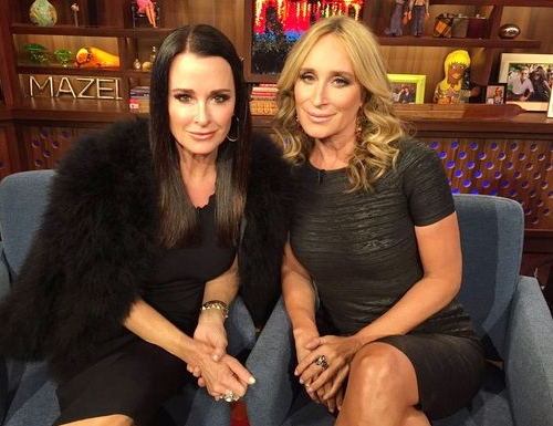 Kyle Richards and Sonja Morgan