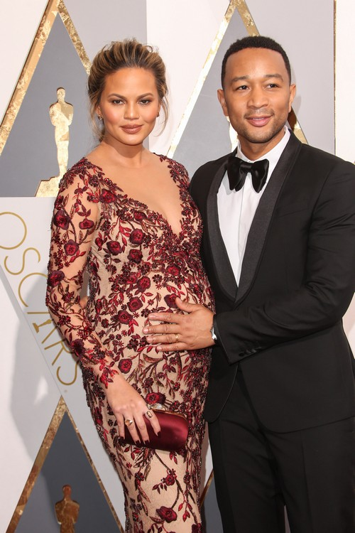 88th Annual Academy Awards at the Dolby Theatre Featuring: Chrissy Teigen, John Legend Where: Hollywood, California, United States When: 28 Feb 2016 Credit: FayesVision/WENN.com