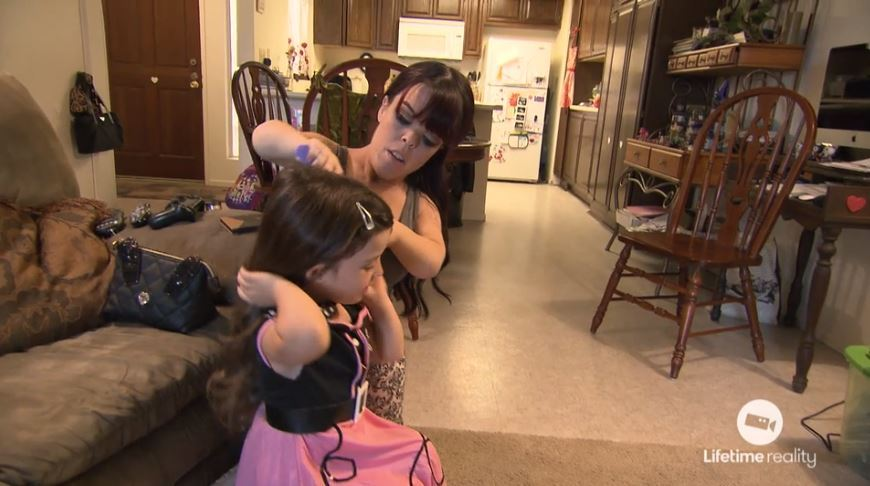 Briana-Renee-Leina-Daughter-Brushing-Hair-Little-Women-LA