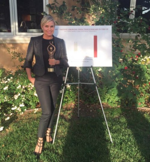 Yolanda Foster Honored With Another Award For Lyme Disease Awareness