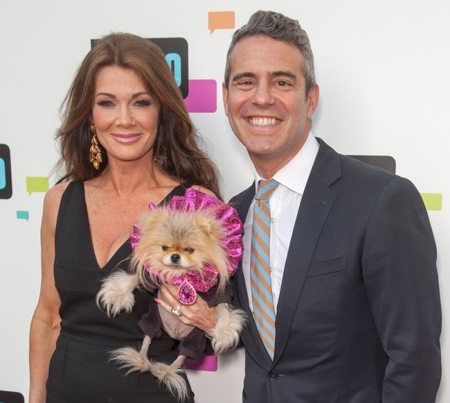 Lisa Vanderpump & Andy Cohen