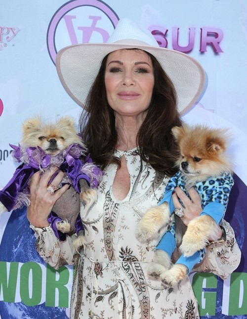 2016 World Dog Day Featuring: Lisa Vanderpump Where: Hollywood, California, United States When: 22 May 2016 Credit: FayesVision/WENN.com