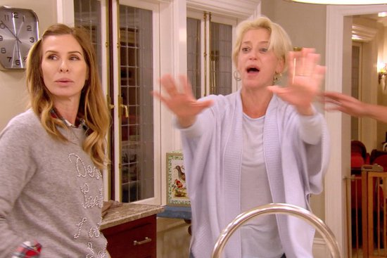 Dorinda melts down