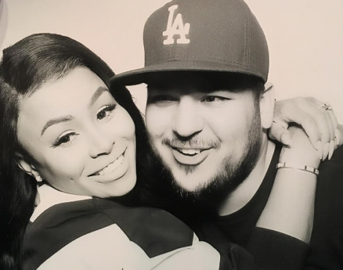 Rob Kardashian And Blac Chyna Didn't Break Up; They're Going Through A Rough Patch
