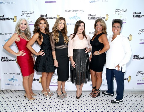 WEEHAWKEN, NJ - JULY 10:  (L-R) Kim DePaola, Dolores Catania, Siggy Flicker, Jacqueline Laurita, Kathy Wakile and Rosie Pierri attend the