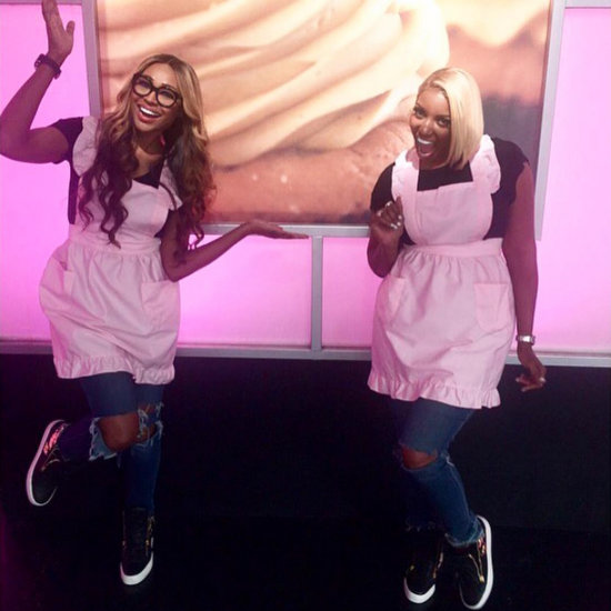 NeNe Leakes and Cynthia Bailey on Cupcake Wars