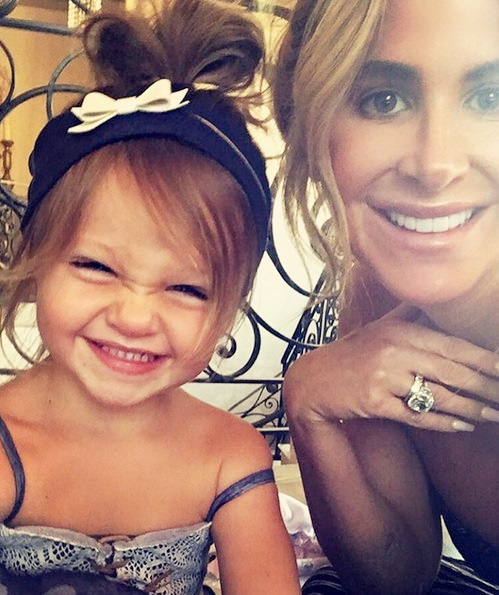 Reality TV Stars Family Pics - Kim Zolciak