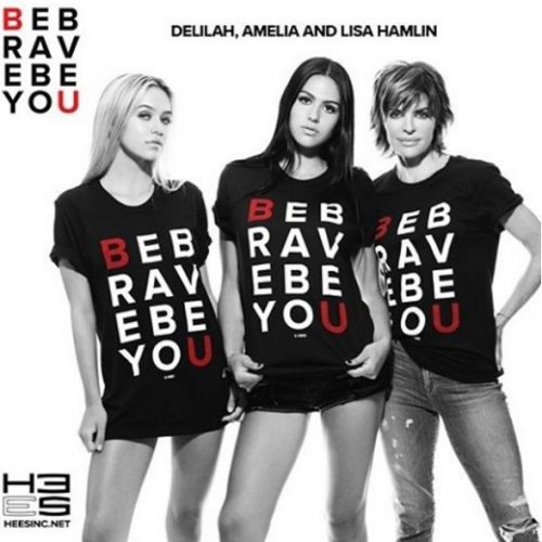 Lisa Rinna And Her Daughters Model In A Campaign For Be Brave Be You