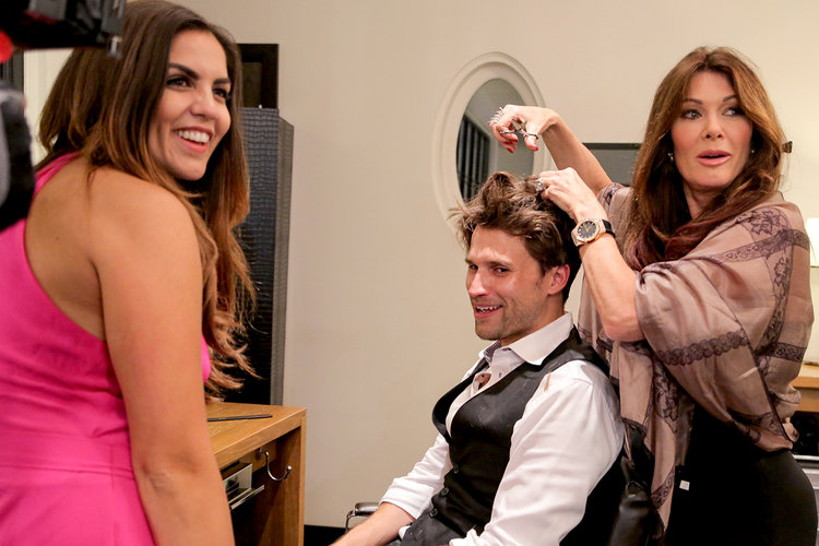 Lisa Vanderpump officiated Katie Maloney and Tom Schwartz's wedding