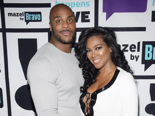 Kenya Moore and Matt Jordan