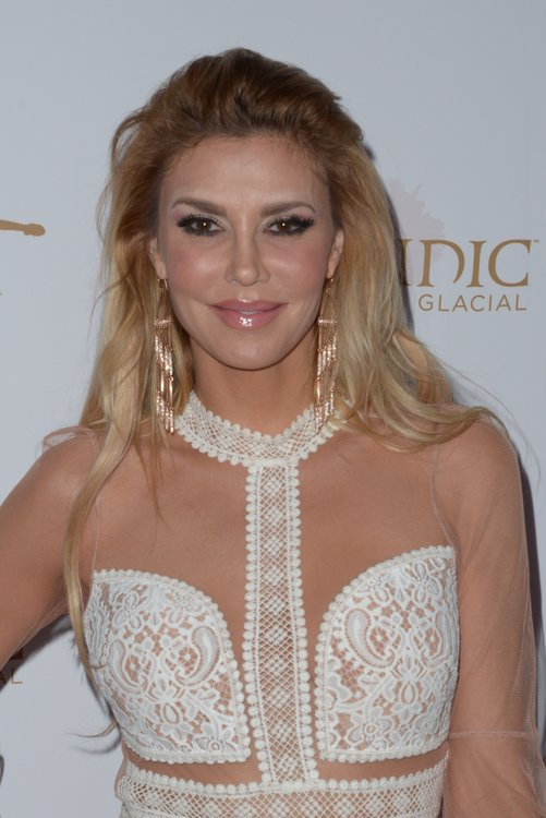 Brandi Glanville in White Lace