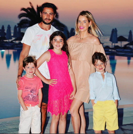 Caroline Stanbury & Family in Greece